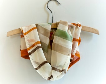 Silk Scarf no2, stripes