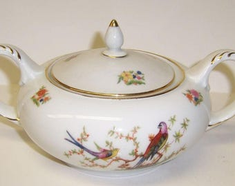 Bohemia China The EATON Two Handled SUGAR BOWL with Lid