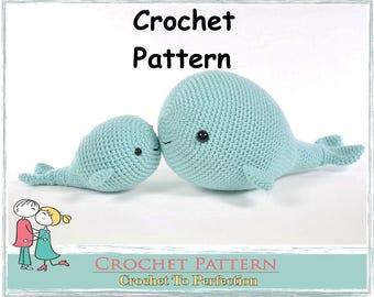 Amigurumi Pattern Whale Amigurumi Whale Pattern Crochet Pattern Amigurumi Crochet Animals Amigurumi Crochet Pattern Stuffed Animal Toys