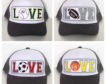 customizable sports love patch