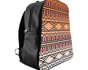 Boho Festival Backpack In Pink