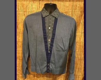Vintage 1950s V Panel Shirt
