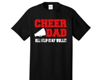 Cheer Dad Shirt, Cheer Dad, Cheer Dad competition shirt, Funny Cheer dad shirt, Cheer Support shirt, Cheer Shirt, Cheerleader shirt for dad