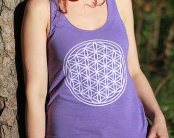 Sacred Flower - Women's Sacred Geometry Tank