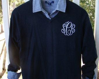 Monogrammed Sweater