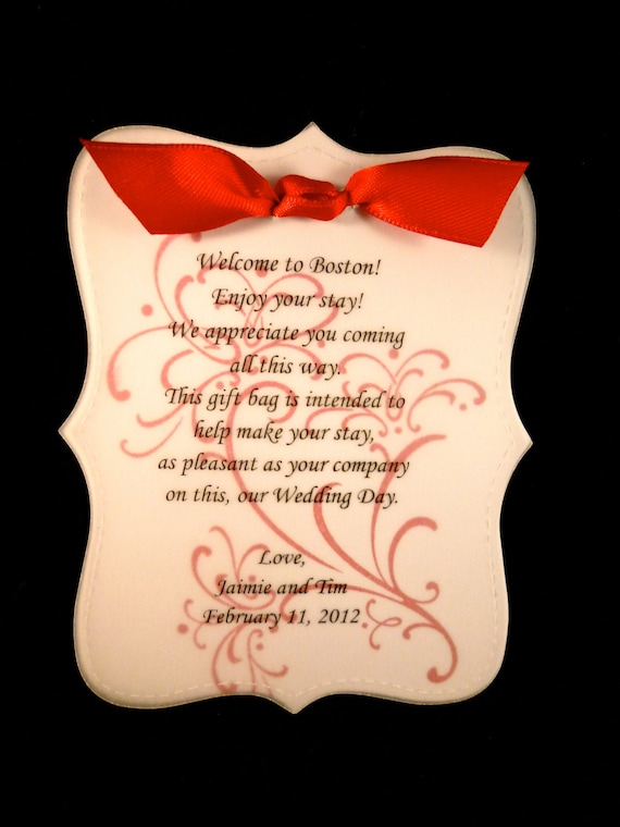 Items similar to wedding welcome note sample wedding sweet design items similar to wedding welcome note sample wedding sweet design on etsy thecheapjerseys Gallery