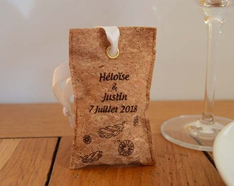 Scented sachet Cork fabric