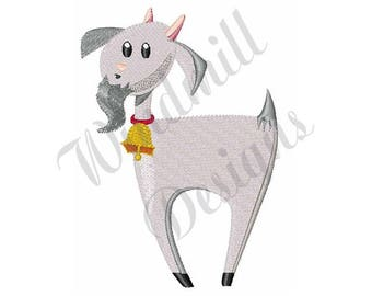 Billy Goat - Machine Embroidery Design