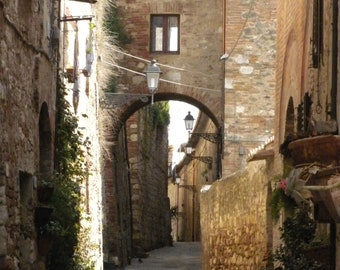 Within a Tuscan Town