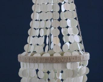 Custom paper chandelier or mobile.  Weddings, showers, parties, nurseries, etc.
