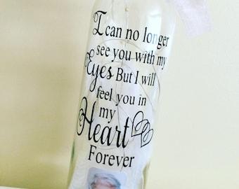 In memory light up bottle