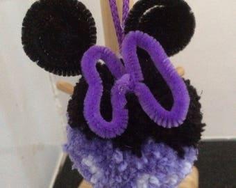 Girl mouse pompom