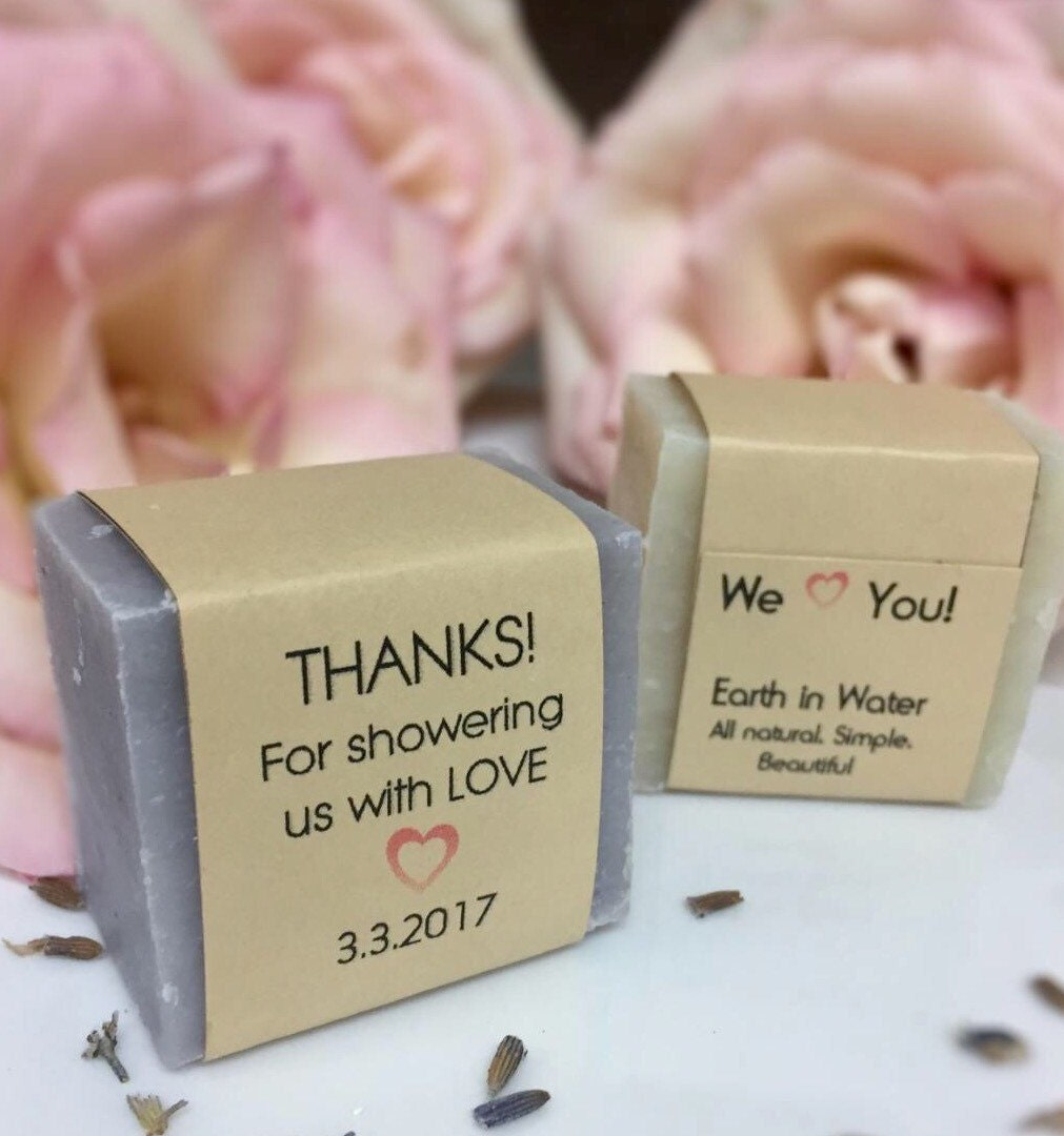 60 Wedding Shower Favors Baby Shower Favors Thank You Gifts