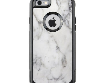 OtterBox Case Skin - White Marble - Sticker - iPhone 4/5/6/6+/7/7+, Galaxy S4/S5/S6/S7, Note 3/4/5