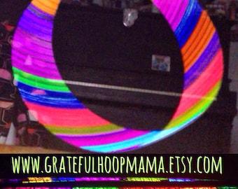 Candyland UV Reflective Polypro Hula Hoop