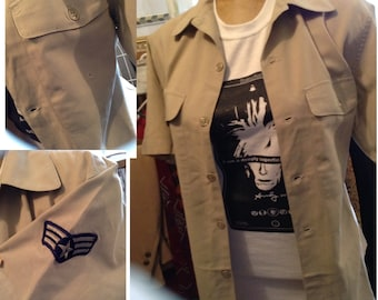 Vintage Air Force shirt size large free domestic shipping