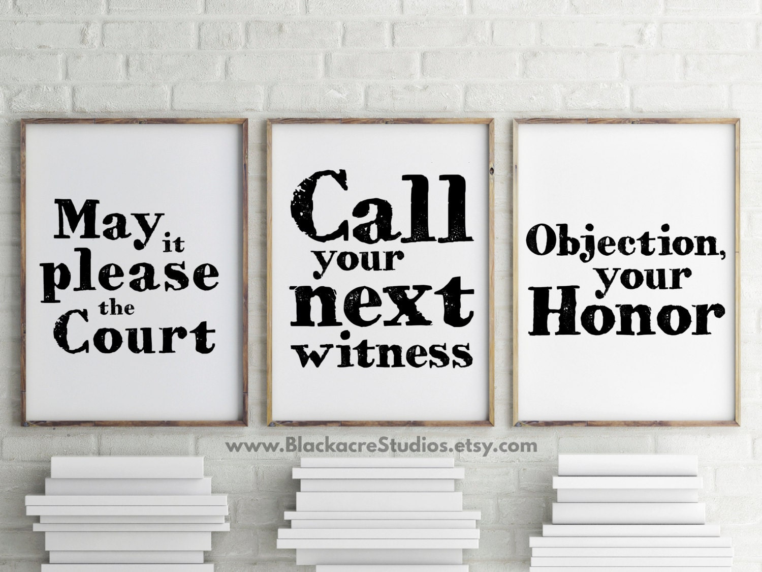 BESTSELLER Courtroom Quotes Print Set Gift Pack Trial