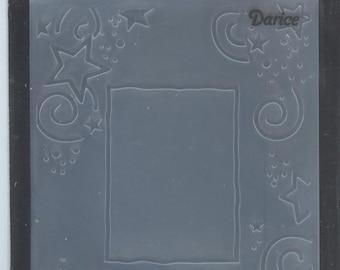 Embossing Folder Frame Star Border Darice® Embossing Folder 4.25 x 5.75 - code 6