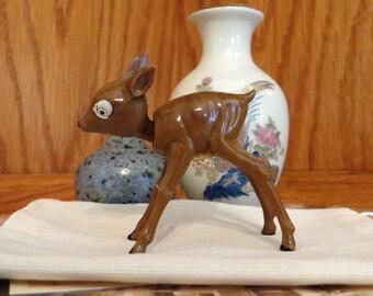 S. A. Reider Celluloid Germany Deer Fawn Bambi Nodder