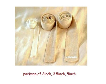 Doll's tubing for crafting inner doll's head made of natural materials suitable for Waldorf dolls-3 sizes, made in Israel