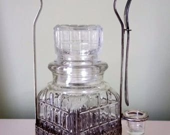 Silver Plate Condiment Caddy Made In England