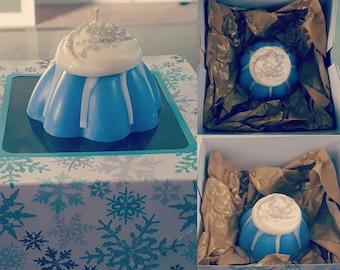 Bundt cake candles
