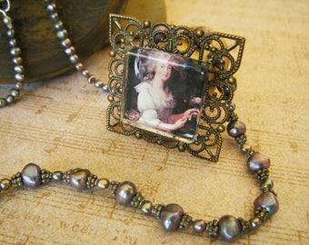 Marie Antoinette Handmade Jewelry Hanger