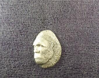 New.....Male Sasquatch Head Pendant  Big Male