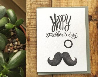 Classy Happy Father's Day Card / Cute Father's Day Card / Father's Day / Dad Cards / Classic Cards / Cute Cards