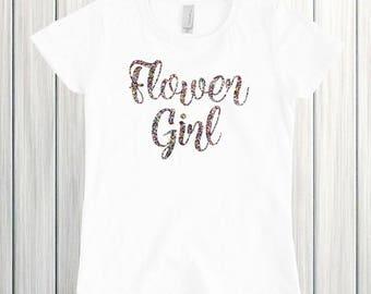 Flower Girl Shirt Flower Girl Gift Petal Patrol Shirt Flower Girl Proposal Wedding Shirt Flower Girl Outfit Petal Patrol Bridal Party Shirt