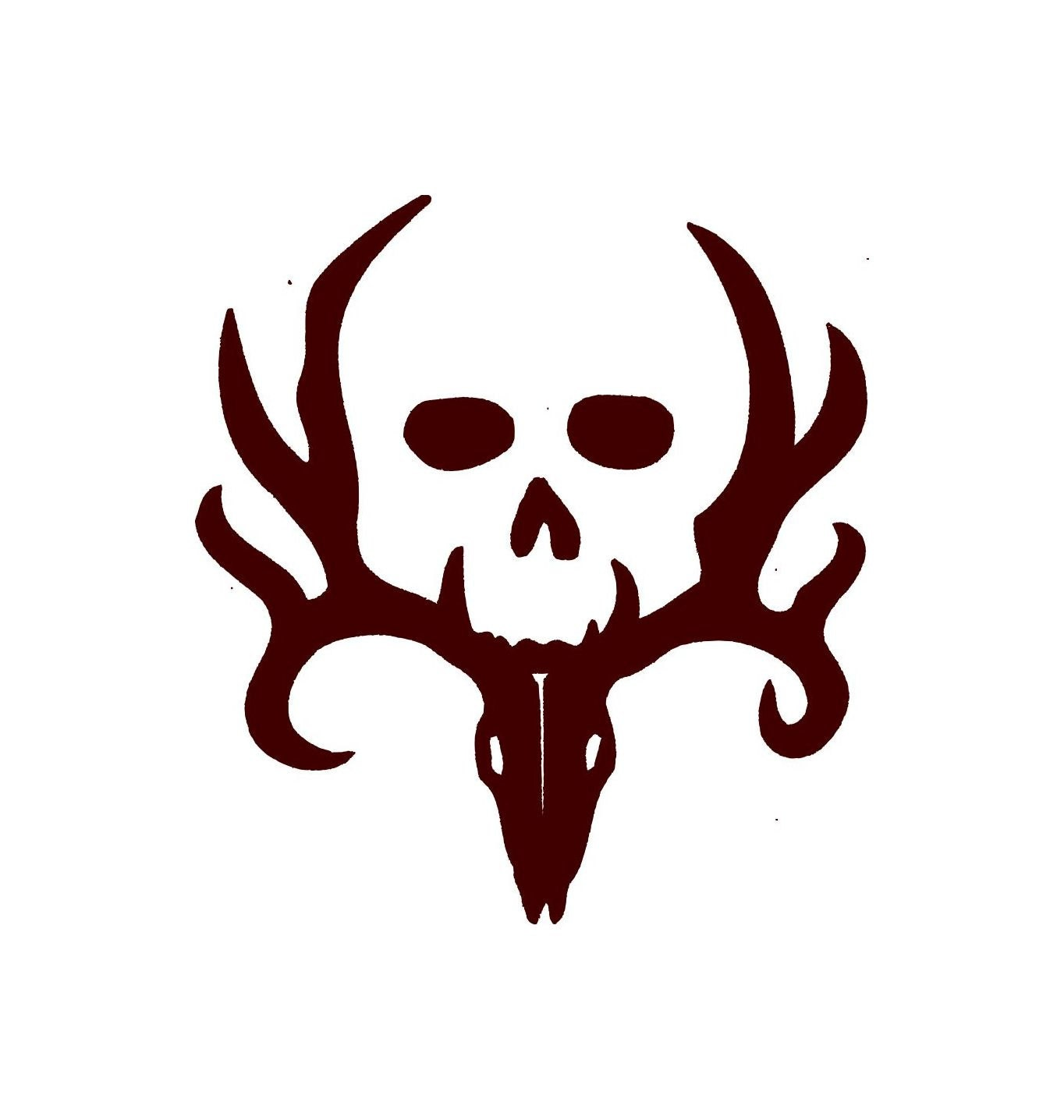 Deer hunting decal with skull car decal vinyl car decals zoom biocorpaavc