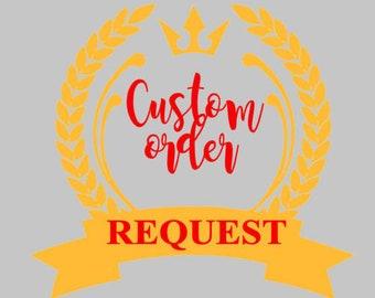 custom order for chtistina rasberry
