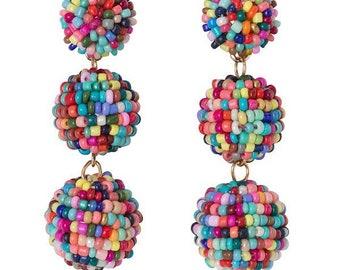 Seabead ball drop Earrings