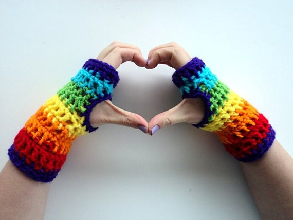 Fingerless Gloves Crochet Pattern Crochet Arm Warmers