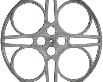 Cloverleaf Movie Reel Cut Out Wall Decal #40877