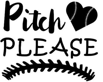 Pitch Please Decal