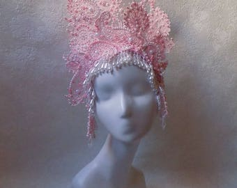 "Haddress ""Fantasy Lace Flower"""