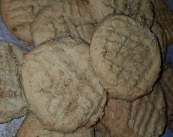 2 dozen Farmhouse Peanut Butter Cookies