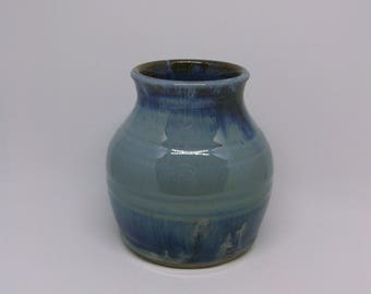 Small blue multi vase, Mother's day gift