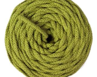 Cotton Air 100% cotton natural kiwi Green