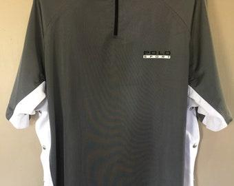Vintage Polo Sport Ralph Lauren Tommy Hillfiger Nautica Hip Hop Streetwear Snap Button Shirt Large Size