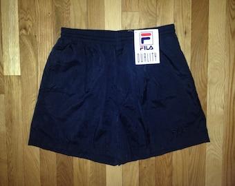 vintage FILA swim trunks mens size XL deadstock NWT 90s
