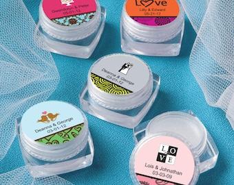 24 Personalized Lip Balm - Set of 24