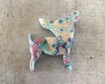 chihuahua Brooch or necklace - new collection
