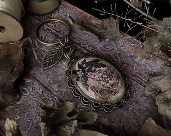 Mandrake Keychain