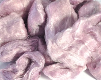 Mulberry Silk - Hand Dyed Silk - Silk - Made from A Grade Mulberry Silk Hankies - Silk for Spinning - Silk for Felting