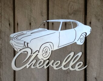 24x14 1970 Chevelle Sign