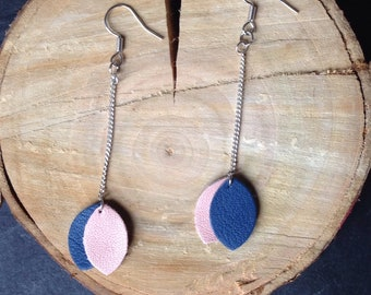 Nora - leather earrings