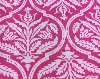 Joel Dewberry for Westminster Fabrics Pink Rose Damask. Sold by the half yard.