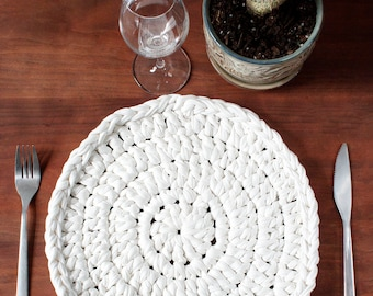 Recycled cotton doily